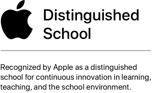 Apple Distinguished School