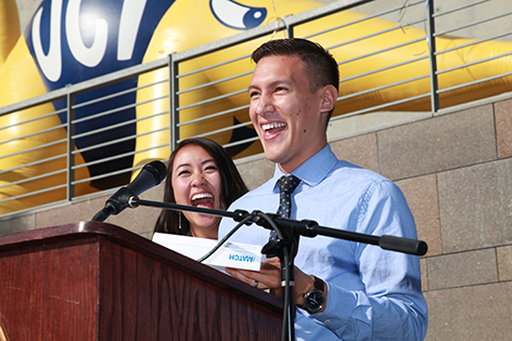 Newly minted UC Irvine doctors receive their match letters from the medical institutions where they'll begin their careers.