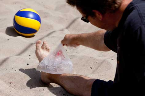 Take care before jumping into summer sports